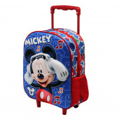 Zaino Basic con Trolley Topolino Music