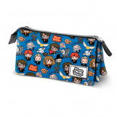Triple Pencil Case HS  Pop