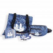 Shopping+ Fanny Pack+ Gift Mickey Mouse Blue