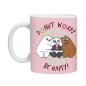 Cup We Bare Bears Pink