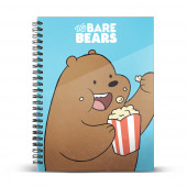 DIN A5 Grid Paper Notebook  Grizzly