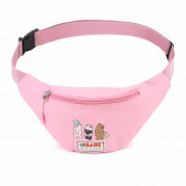 Fanny Pack We Bare Bears Pink