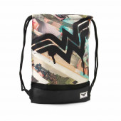 Gymsack Saco Storm WONDER WOMAN Collage