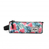 Cylind. Triple Pencil Case  Watermelon