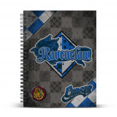 DIN A4 Grid Paper Notebook  Quidditch Ravenclaw