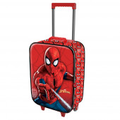 Maleta Trolley Soft 3D  Spiderweb