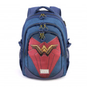 Backpack for School Running HS WONDER WOMAN Emblem