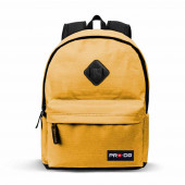 Freetime Block Backpack  Yellow