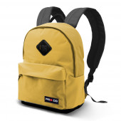 Small Freetime Block Backpack  Yellow
