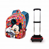 Zaino Trolley Basic MICKEY INFANTIL Say Cheese