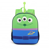 3D Small Backpack  Alien